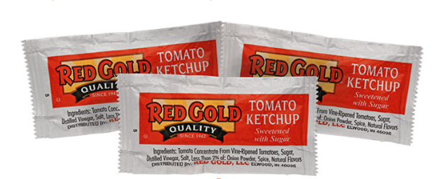 Picture of TOMATO KETCHUP 1000 packets 9g c/u